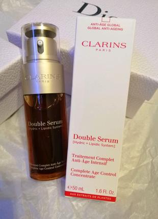Антивозрастная сыворотка Clarins Double Serum