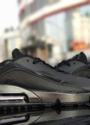 Nike air max 2090 full black, кроссовки найк мужские