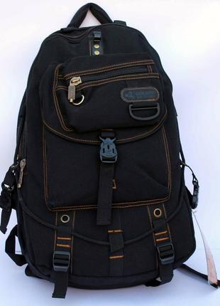 Рюкзак, ранец, городской рюкзак, брезентовый рюкзак, мужской р...