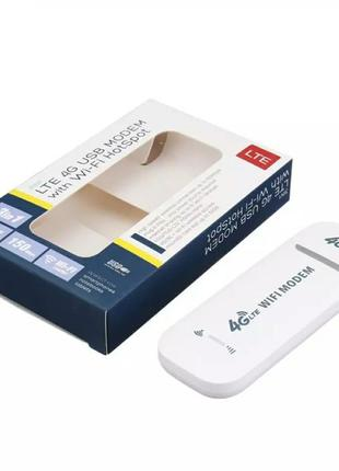 4G USB модем под SIM-карту c WiFi роутером LTE