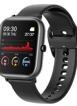 Смарт-Часы Colmi P8 SE Black Smartwatch