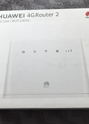 Модем роутер. Huawei 4G LTE