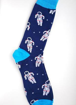 👨🚀чоловічі шкарпетки космонавт/мужские носки космос со звезда...