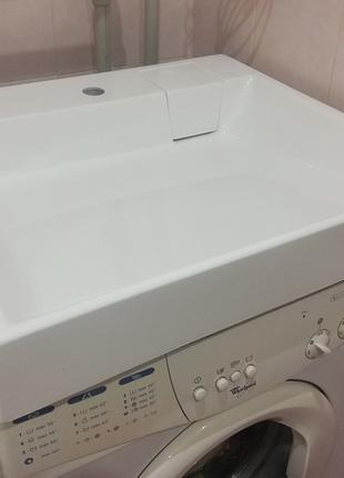 Умивальник(раковина) над стиральной машиной 60х60см, Largo T