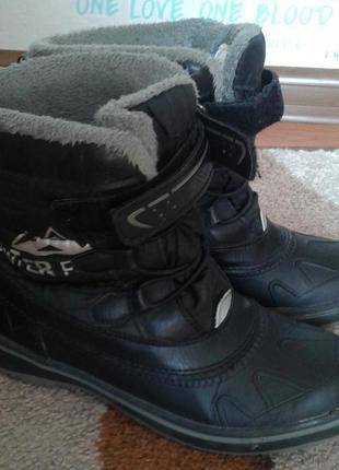 Pepperts сапоги ботинки детские. размер 32