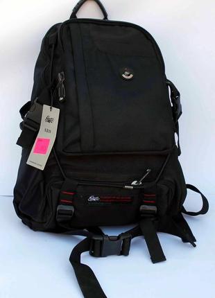 Рюкзак, ранец, городской рюкзак, черный рюкзак, спортивный рюкзак