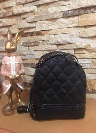 Женский кожаный рюкзак сумка италия кроссбоди