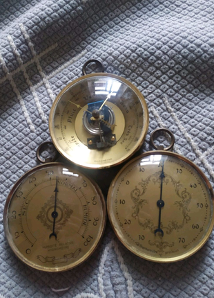 Барометр,термометр,гігрометр