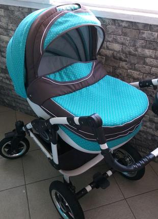 Детская коляска универсальная 2в1