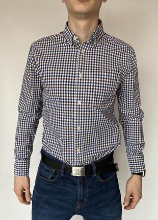 Gap рубашка фирменная s размер с длинным рукавом  рубаха
