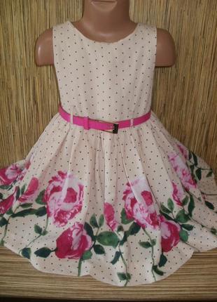 Нарядное платье на 5 лет