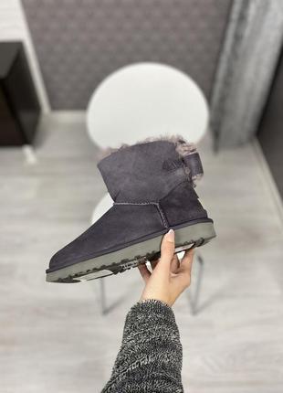 Классные женские ботинки mini bailey bow ii