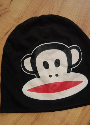 Шапочка шапка детская демисезонная на 3-6 лет