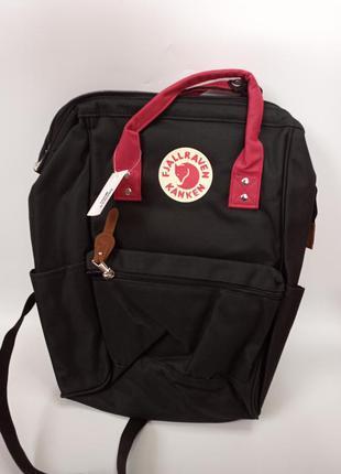 Чорний рюкзак канкен kanken