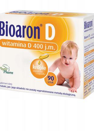 Детские витамины Д (Bioaron D 400 90 kaps)