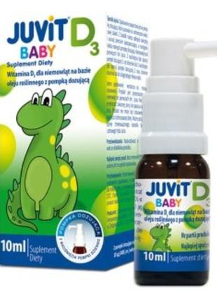 Детские Витамины Д (Juvit D капли)