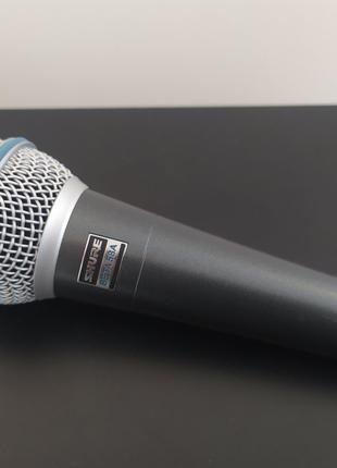 BETA 58A SHURE Вокальный шнуровой микрофон НОВЫЙ.