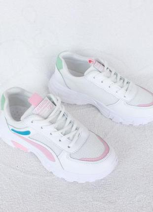 Белые кроссовки 37 размера