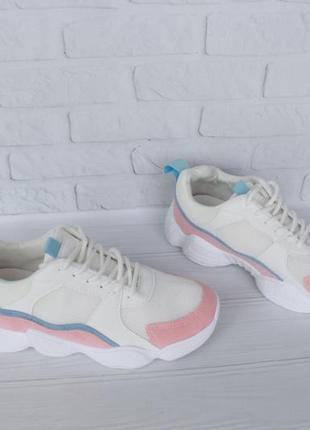 Белые кроссовки 38 размера