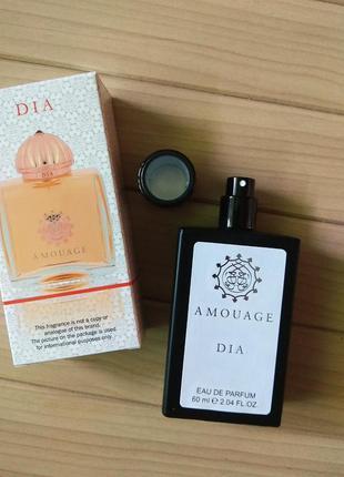 Парфюмированная вода парфюм тестер dia от amouage ☕ объём 60мл