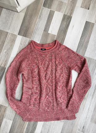 Теплый свитер f&f. s- m
