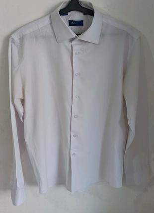 Мужская рубашка белая BAGIN