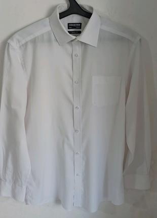 Мужская рубашка белая Collection