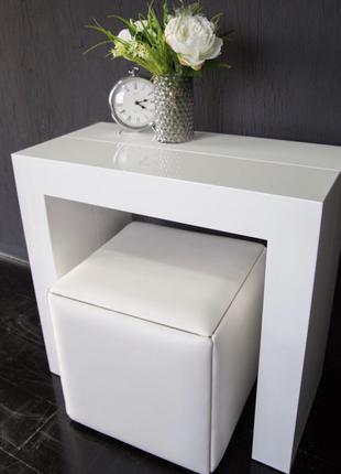 Стол - трансформер Стол-Консоль от 1,6м Обеденный стол раскладной