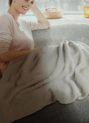 Теплый мягкий плед 160*110 см