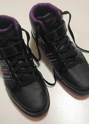 Новые кроссовки хайтопы кеды adidas neo label оригинал
