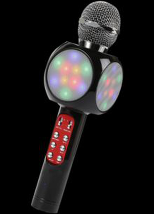 Беспроводной микрофон караоке bluetooth WSTER WS-1816