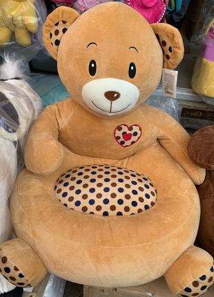 Кресло детское мягкое,кресло игрушка для детей мишка, обезьянка,