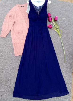 Длинное нарядное  платье в пол  showcase раз. s-м