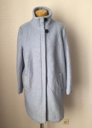 Полушерстяное пальто красивого цвета размер евр 50, укр 54-56-...