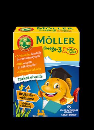 Меллер-оригинальный рыбий жир (Möllers рыбки)