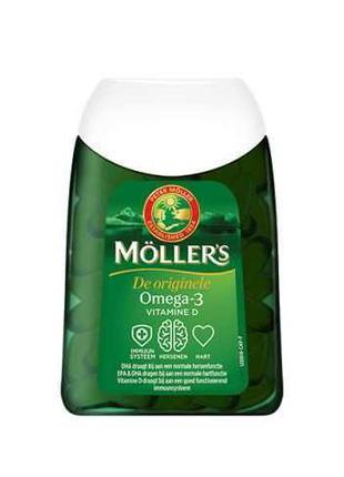 Меллер-Оригинальный Рыбий Жир (Möllers 112 капс)