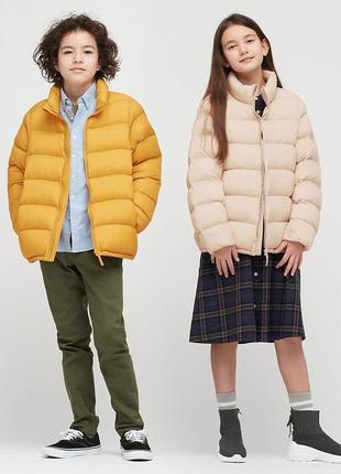 Стильная курка оверсайз uniqlo volume warm padded jacket