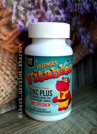 Vitables витамин цинк+эхинацея для детей 90шт IHerb