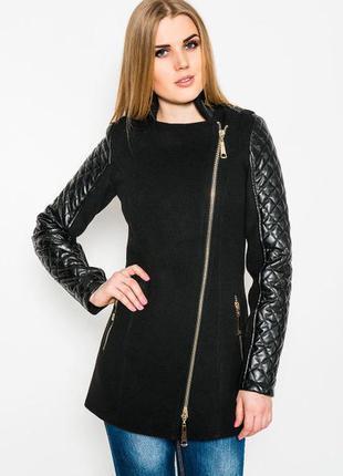 Пальто молодежное модное 42,44 р черное,электрик кашемировое