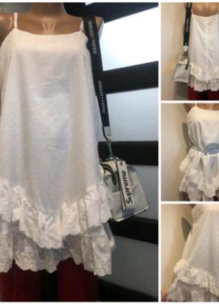 Белая стильная блузка рубашка кофточка майка топ