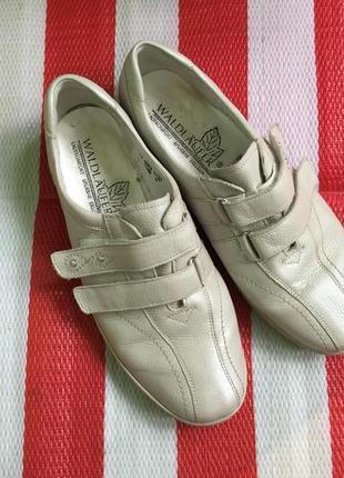 Шикарнючие мегаудобные кожаные туфли мокасины waldläufer /неме...