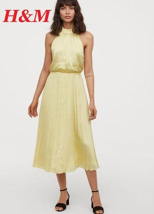 Крутое платье h&m