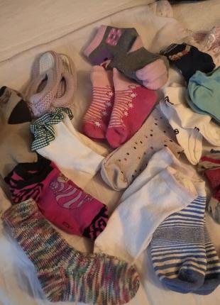 Носки,разные.18 пар.