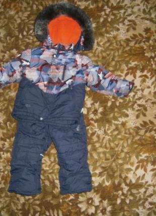Детский зимний комбинезон (92 размер)
