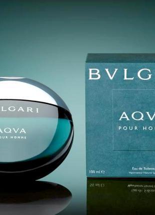 Bvlgari Aqva Pour Homme Оригинал EDТ  5 мл Затест_туал.вода