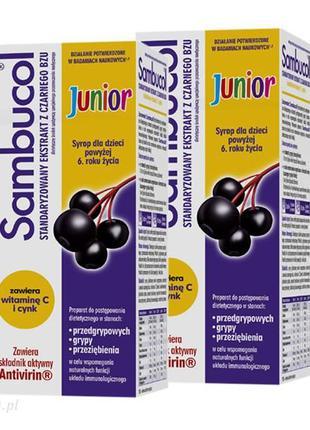 Для Иммунитета Sambucol Junior
