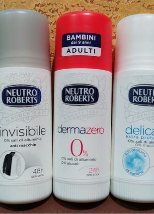 Neutro Roberts Дезодорант антиперспиран Италия без солей алюминия