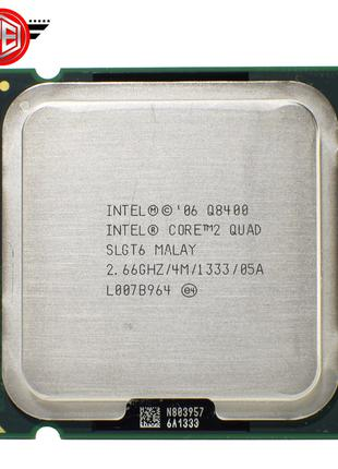 Процесор Intel Core 2 QUAD Q8400 (4 Ядра По 2.67 Ghz) Socket 775