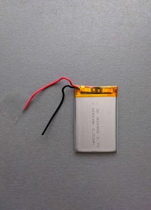 Аккумулятор Литий-полимерный  Li-polymer 3.7 V 600mAh (303450).