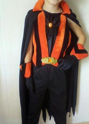 Карнавальный костюм на новый год,хэллоуин дракула вампир принц